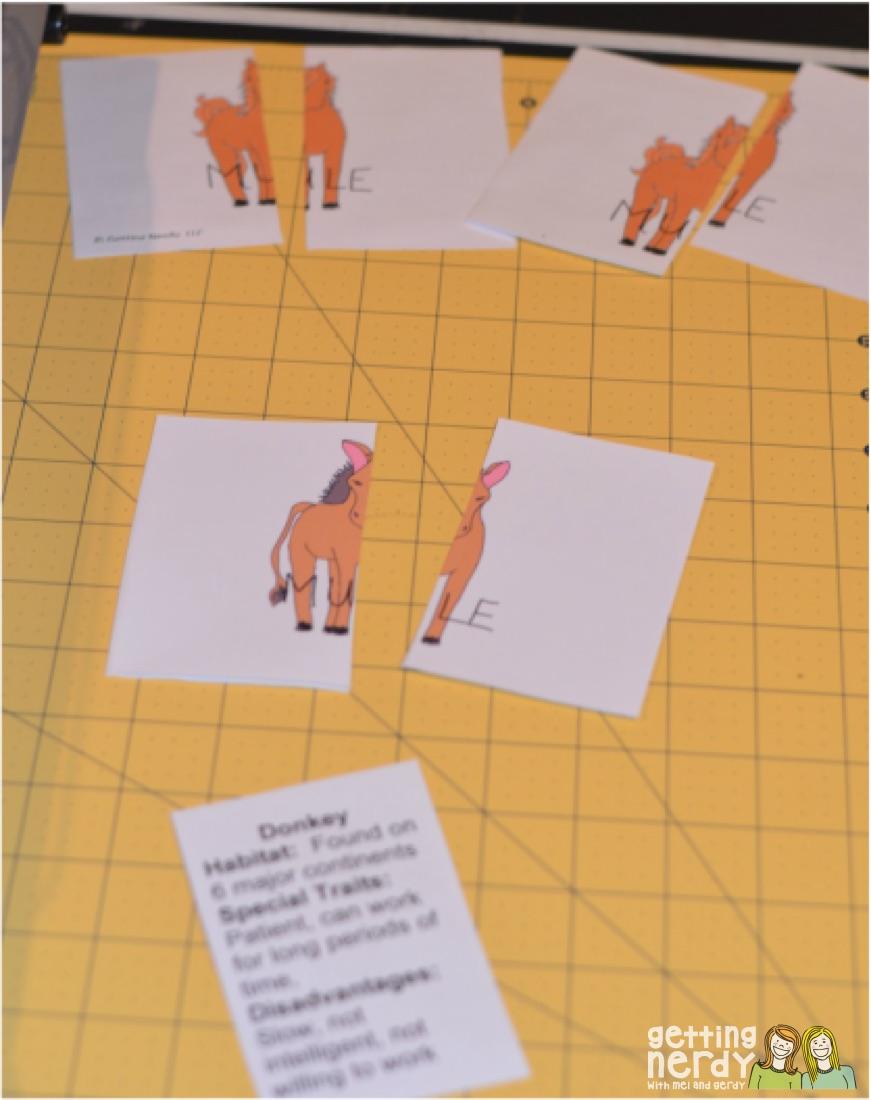 Hybrid Matching Cards Tutorial Getting Nerdy