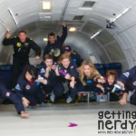 Zero G (and Mel) and Our Weightless Flight of Discovery