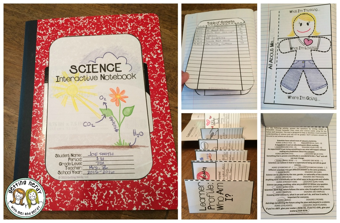 Science interactive notebooks introduction and set up setting up interactive notebooks especially great for science pronofoot35fo Images