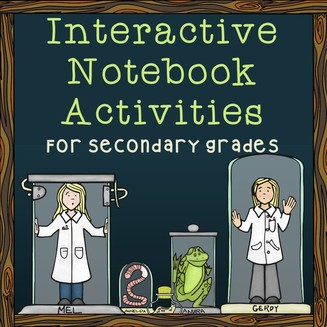 Interactive Notebooks for Secondary Grades