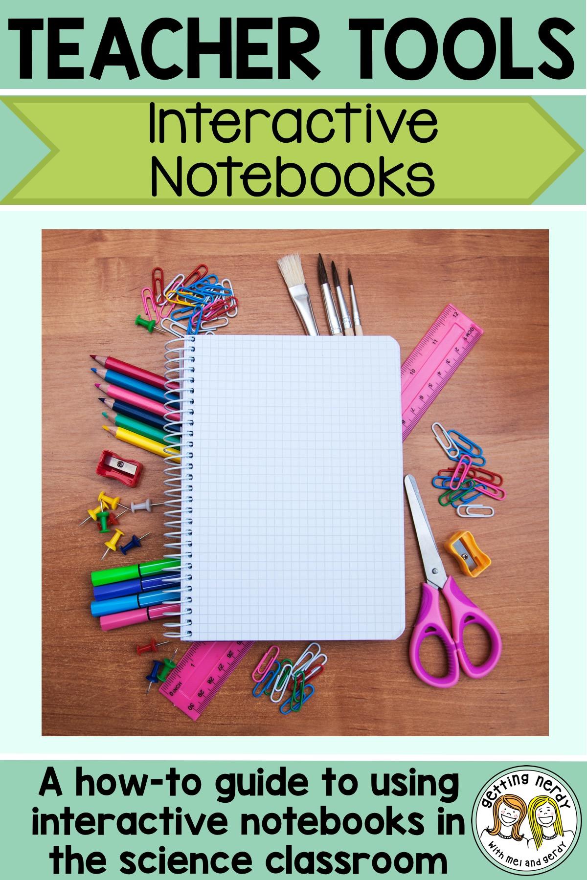 a beginner s guide to setting up science interactive notebooks rh gettingnerdywithmelandgerdy com Interactive History Notebook Interactive Reading Notebooks