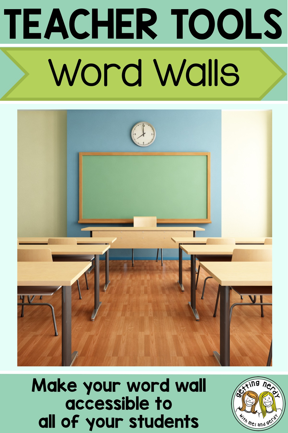 Word walls for ALL students - here\'s a breakdown of how you can make them accessible to any learner #gettingnerdyscience #wordwall #sciencewordwall