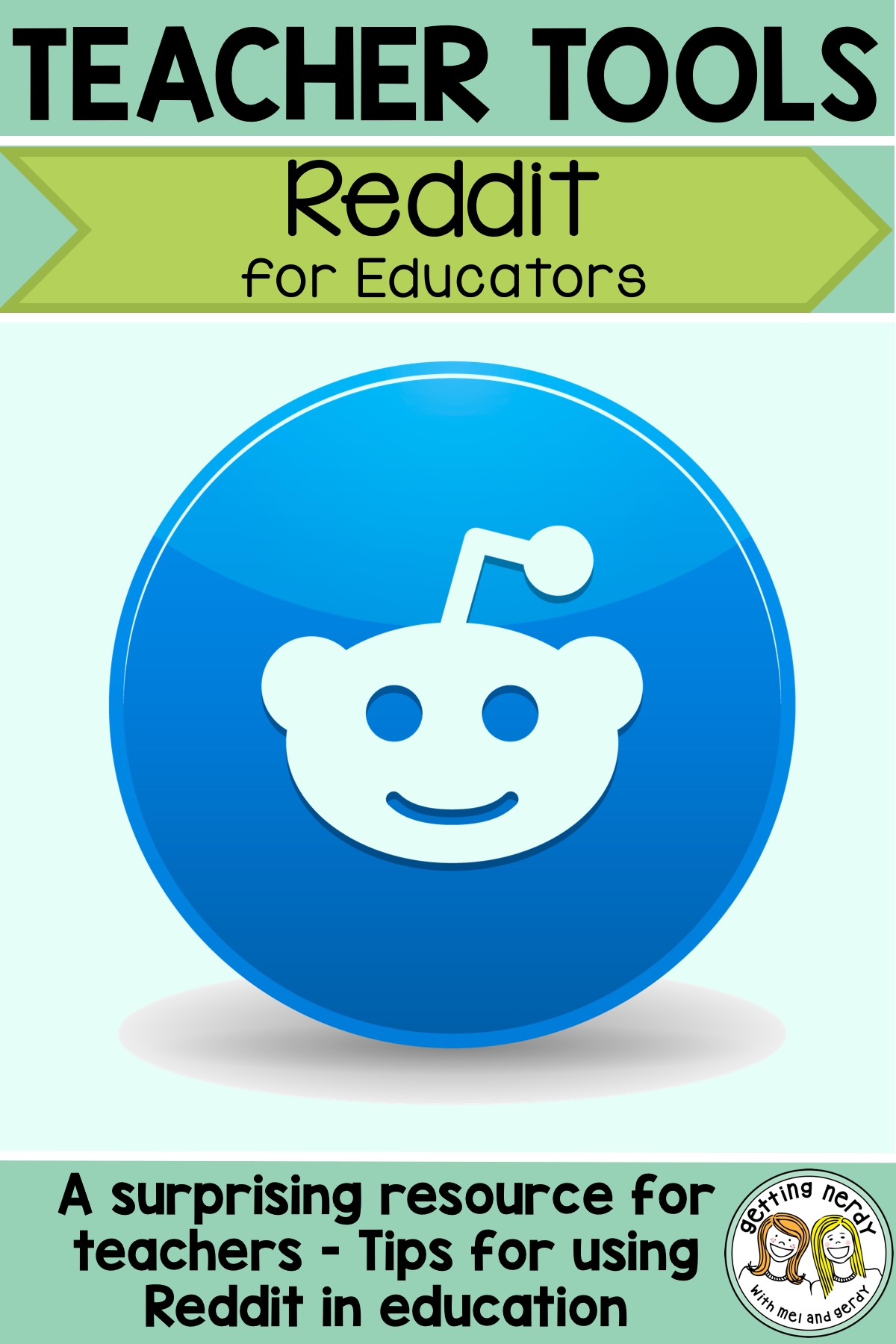 A great tool for teachers, just do a simple search on Reddit and see what\'s trending in the educational world #gettingnerdyscience #teachertools