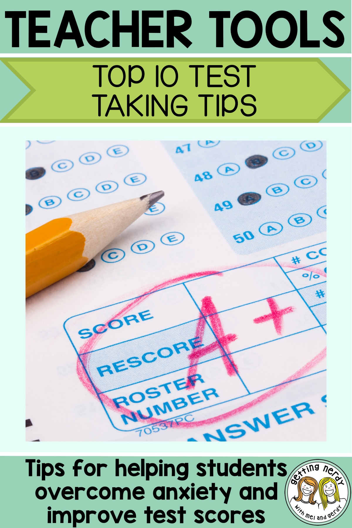 Teacher Tools: Top Ten Test Taking Strategies - Getting ...