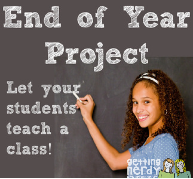 Engaging Students until the Last Week of School:  Student Teacher Project